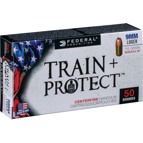 Display product reviews for Federal Premium Train & Protect 9mm Luger 115-Grain Pistol Ammunition