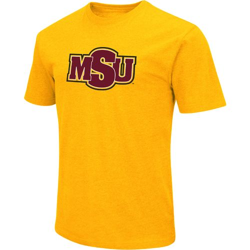 Colosseum Athletics Men's Midwestern State University Logo Short Sleeve T-shirt