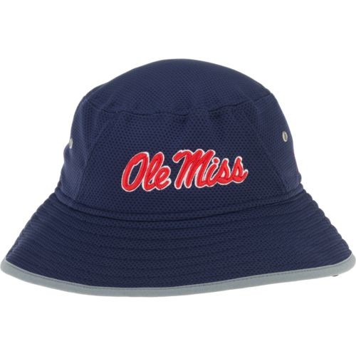 New Era Men's University of Mississippi Training Bucket Hat - view number 1