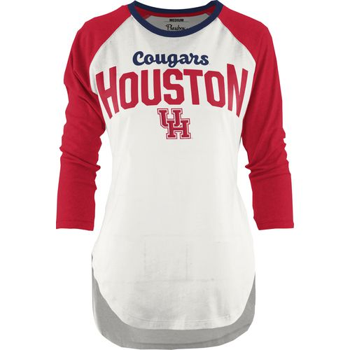 Three Squared Juniors' University of Houston Quin T-shirt