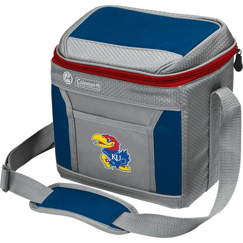 Coleman University of Kansas 9-Can Cooler