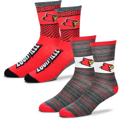 For Bare Feet Men's University of Louisville Father's Day Socks