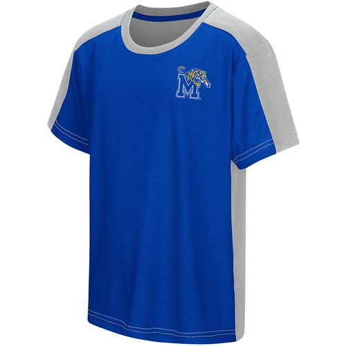 Colosseum Athletics Boys' University of Memphis Short Sleeve T-shirt