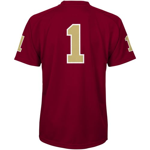 Gen2 Boys' Florida State University Football Jersey Performance T-shirt - view number 2