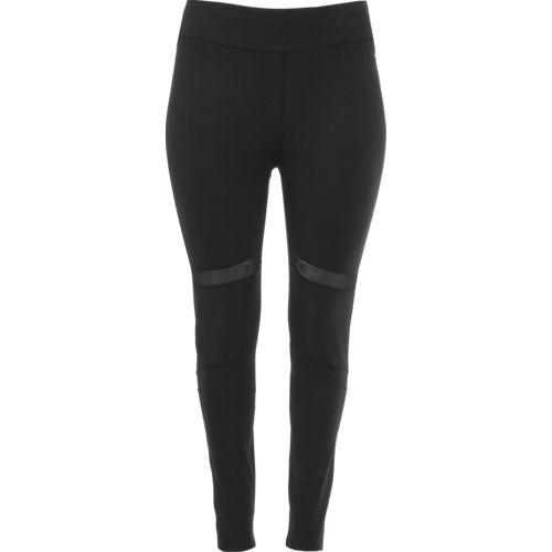 BCG Women's Moto Mesh Plus Size Training Legging