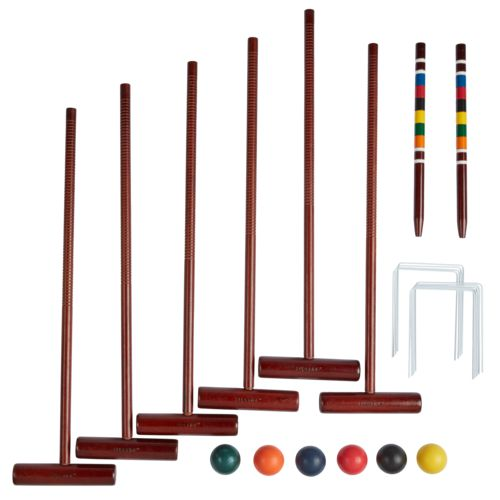 Display product reviews for AGame Deluxe 6-Player Croquet Set