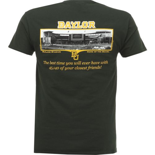 New World Graphics Men's Baylor University Friends Stadium T-shirt - view number 1