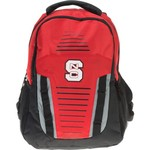 Forever Collectibles North Carolina State University Stripe Franchise Backpack - view number 1