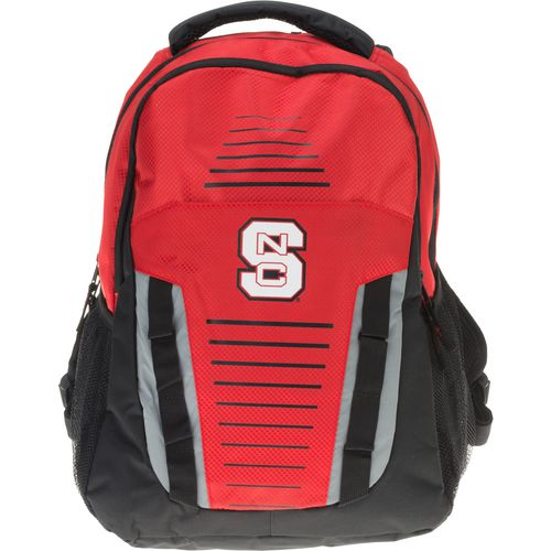 Forever Collectibles North Carolina State University Stripe Franchise Backpack
