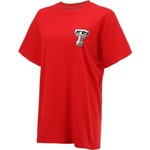 New World Graphics Women's Texas Tech University Logo Aztec T-shirt - view number 3
