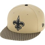 New Era Men's New Orleans Saints Onfield Sideline 2-Tone 9FIFTY Cap - view number 2