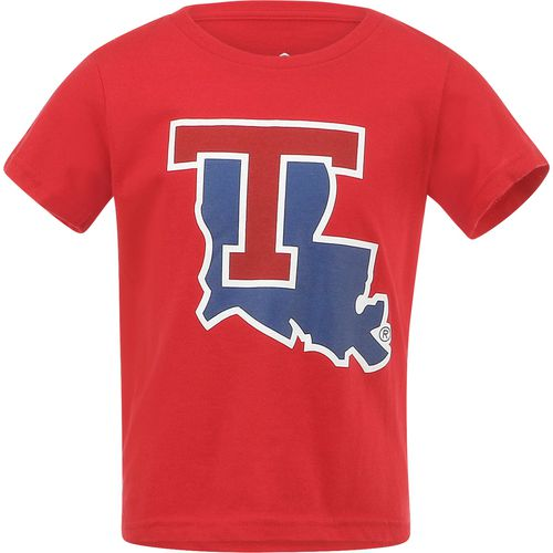 Gen2 Toddlers' Louisiana Tech University Primary Logo Short Sleeve T-shirt