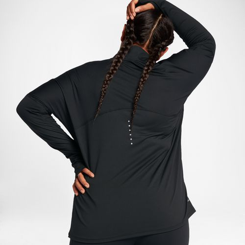 Nike Women's Dry Element 1/2 Zip Plus Size Running Top - view number 5