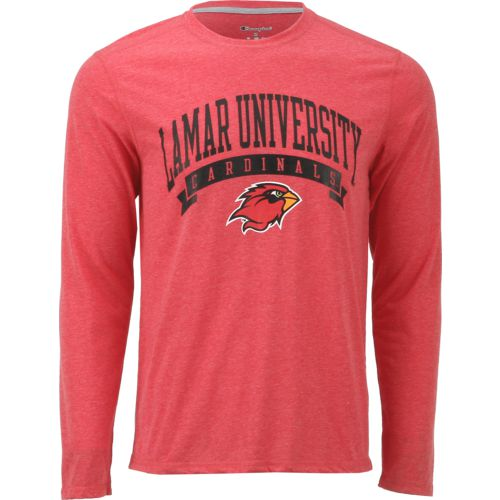 Champion Men's Lamar University In Pursuit Long Sleeve T-shirt