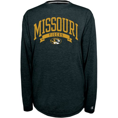 Champion Men's University of Missouri In Pursuit Long Sleeve T-shirt