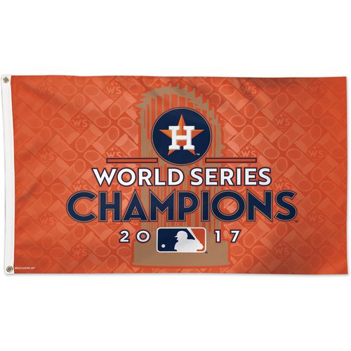 WinCraft Astros 2017 World Series Champions Flag