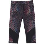 adidas Girls' climalite Alpha Printed Capri Tight - view number 4
