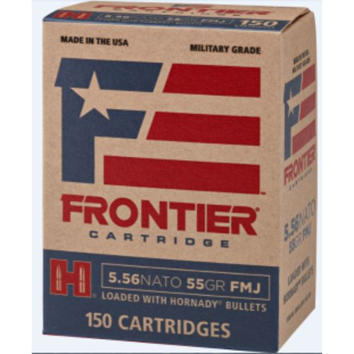 Display product reviews for Hornady Frontier 5.56 NATO 55-Grain Centerfire Rifle Ammunition
