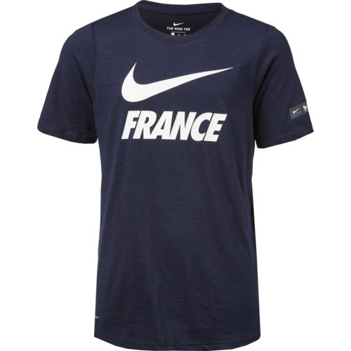 Nike Boys' France Football Futura Dry T-shirt