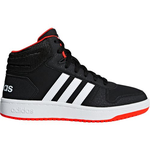 adidas Boys' Hoops 2.0 Mid Basketball Shoes