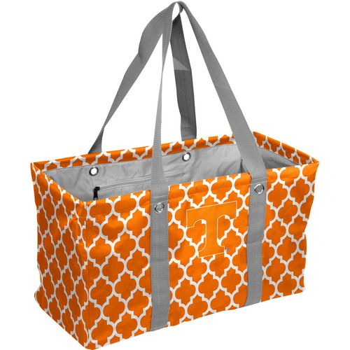 Logo University of Tennessee Quatrefoil Picnic Caddy