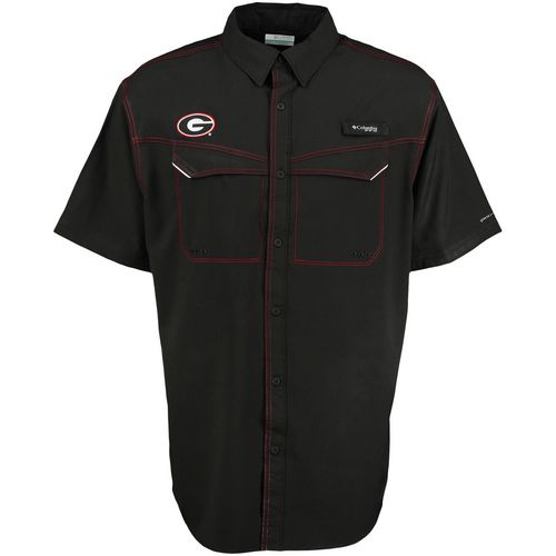 Columbia Sportswear Men's University of Georgia Low Drag Offshore Fishing Shirt - view number 2