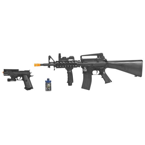 Soft Air USA Colt 1911/DPMS M4 Airsoft Field Duty Kit