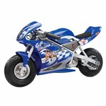 "Razor® Kids' Pocket Rocket™ 10"" 1-Speed Miniature Electric Motorcycle"