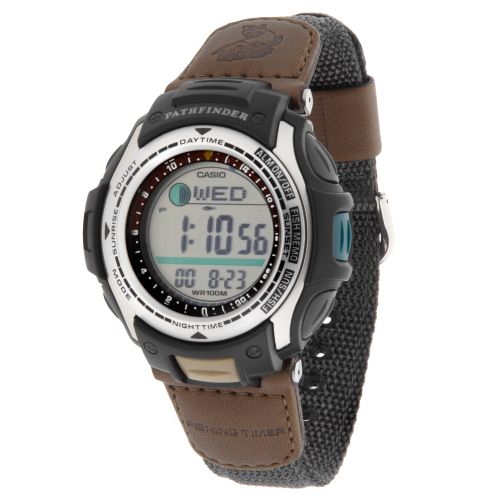 Image for Casio Men's Pathfinder Forester Fishing Watch from Academy