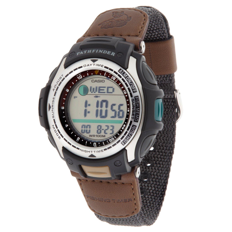 Academy casio men 39 s pathfinder forester fishing watch for Casio pathfinder fishing watch