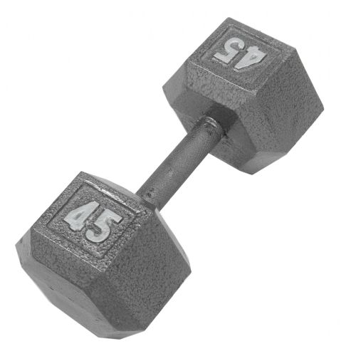 CAP Barbell 45 lb. Solid Hex Dumbbells
