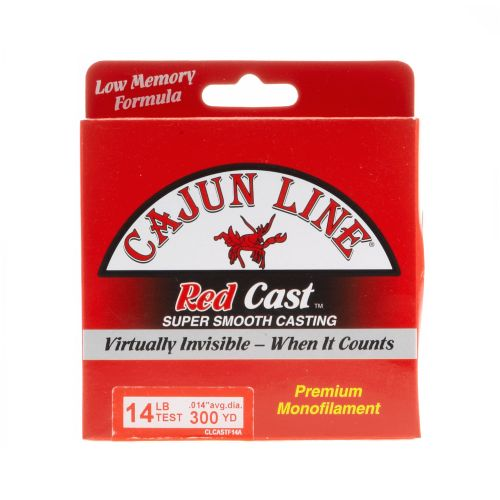 Cajun Line Red Cast 14 lb - 330 yards Monofilament Fishing Line