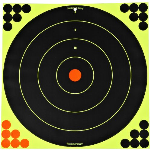 "Birchwood Casey® Shoot-N-C® Self-Adhesive 17.25"" Bull's-Eye Targets 5-pack"