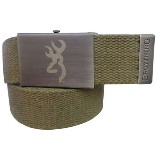 Image for Browning Men's Antique Buckmark Cotton Web Belt from Academy