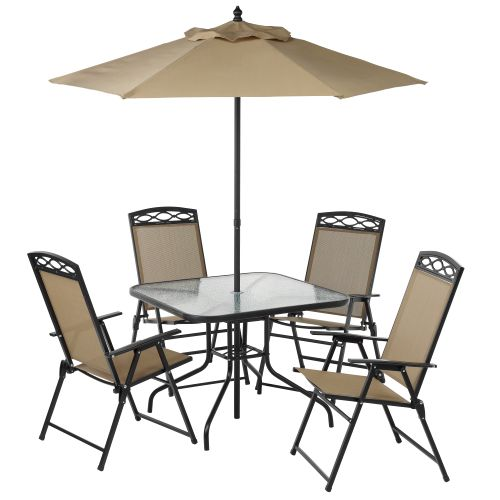 Mosaic™ Steel Sling 6-Piece Patio Set