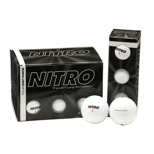 Image for Nitro Golf Tour Distance Golf Balls 12-Pack from Academy