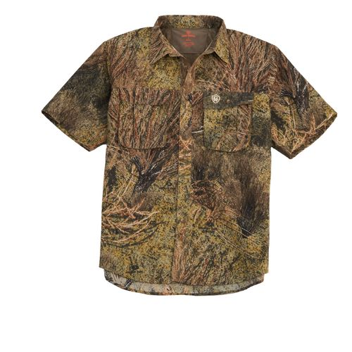 Image for game winner men 39 s dura cool short sleeve camo for Camo fishing shirts