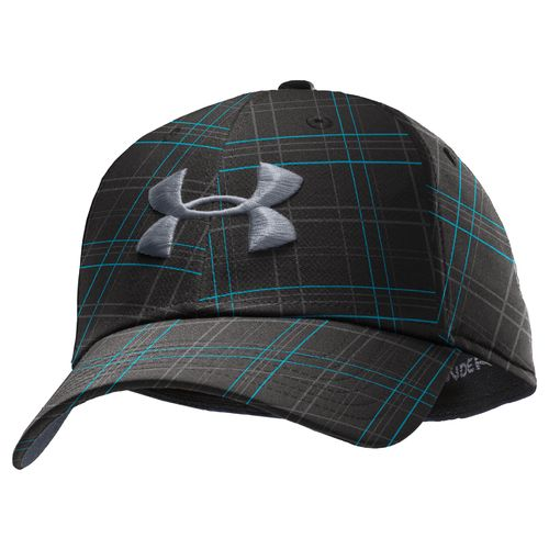 Under Armour® Men's Plaid Stretch Fit Golf Cap