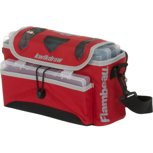 Display product reviews for Flambeau Kwikdraw Soft Tackle Bag