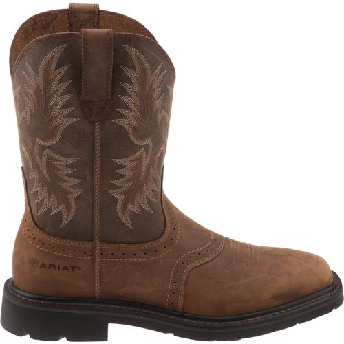 Display product reviews for Ariat Men's Sierra Square-Toe Work Boots