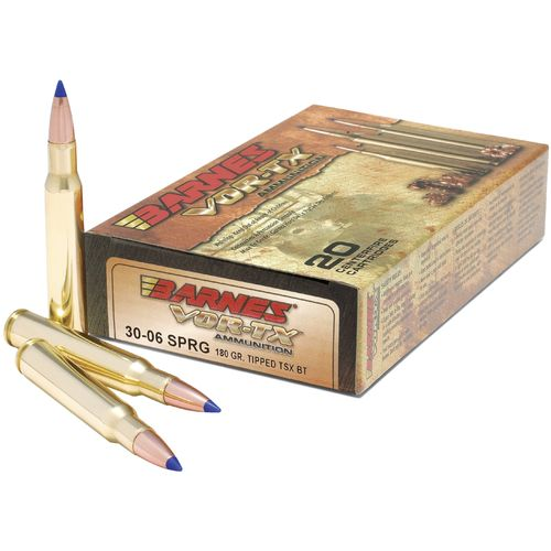 BARNES® VOR-TX® Tipped TSX™ .243 Win 80-Grain Rifle Bullets