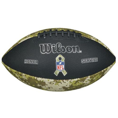 Wilson NFL Salute to Service Camouflage Junior Football - view number 1