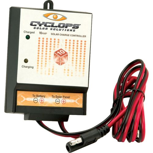 Image for Cyclops 10-Amp Digital Charge Controller from Academy