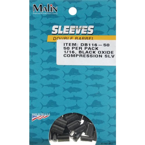 Malin 1/16 in Double-Barrel Compression Sleeves 50-Pack - view number 1
