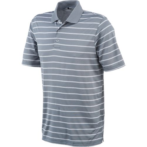 Image for adidas Men's ClimaLite® 2-Color Striped Polo Shirt from Academy