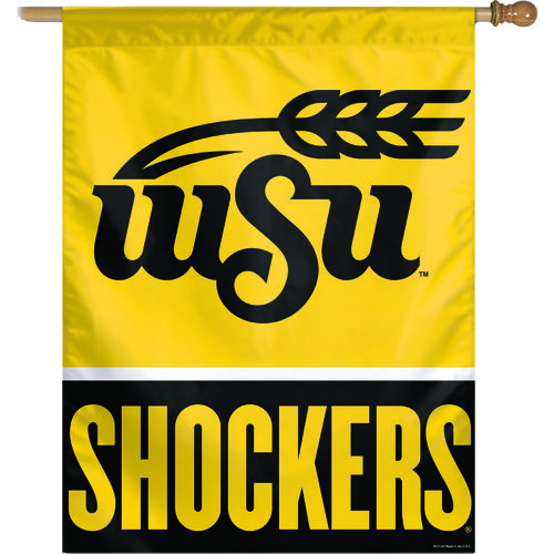 WinCraft Wichita State University Vertical Flag