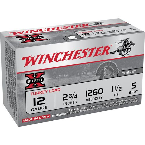 Display product reviews for Winchester Super-X 12 Gauge Turkey Load Shotshells