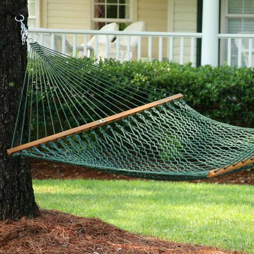 Display product reviews for Pawleys Island DuraCord Rope Hammock