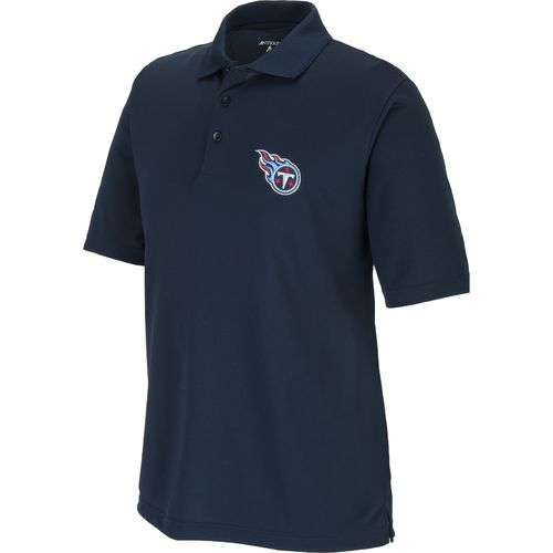 Antigua Men's Tennessee Titans Piqu Xtra-Lite Polo Shirt supplier