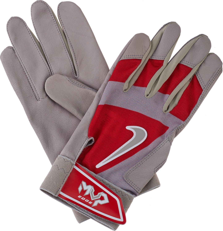 Nike Batting Gloves Orange: Nike Adults' MVP Edge Batting Glove